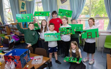LEGO STEM Club make their names with LEGO.
